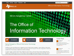 IR Sheds Old Name to Become Office of Information Technology