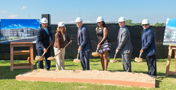 Ground Broken for Student Housing on Southwest Side of Campus