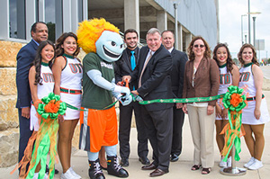 Ribbon-Cutting of Parking Structure 4