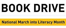 Book Drive National March into Literacy Month