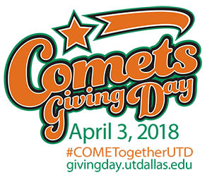 Comets Giving Day: April 3, 2018