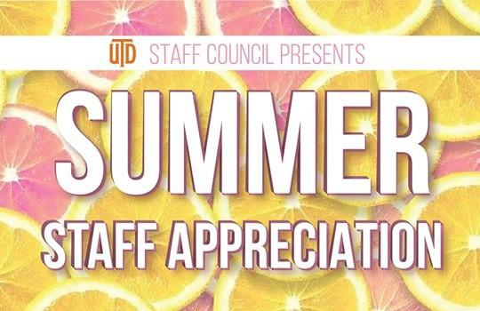 Summer Staff Appreciation