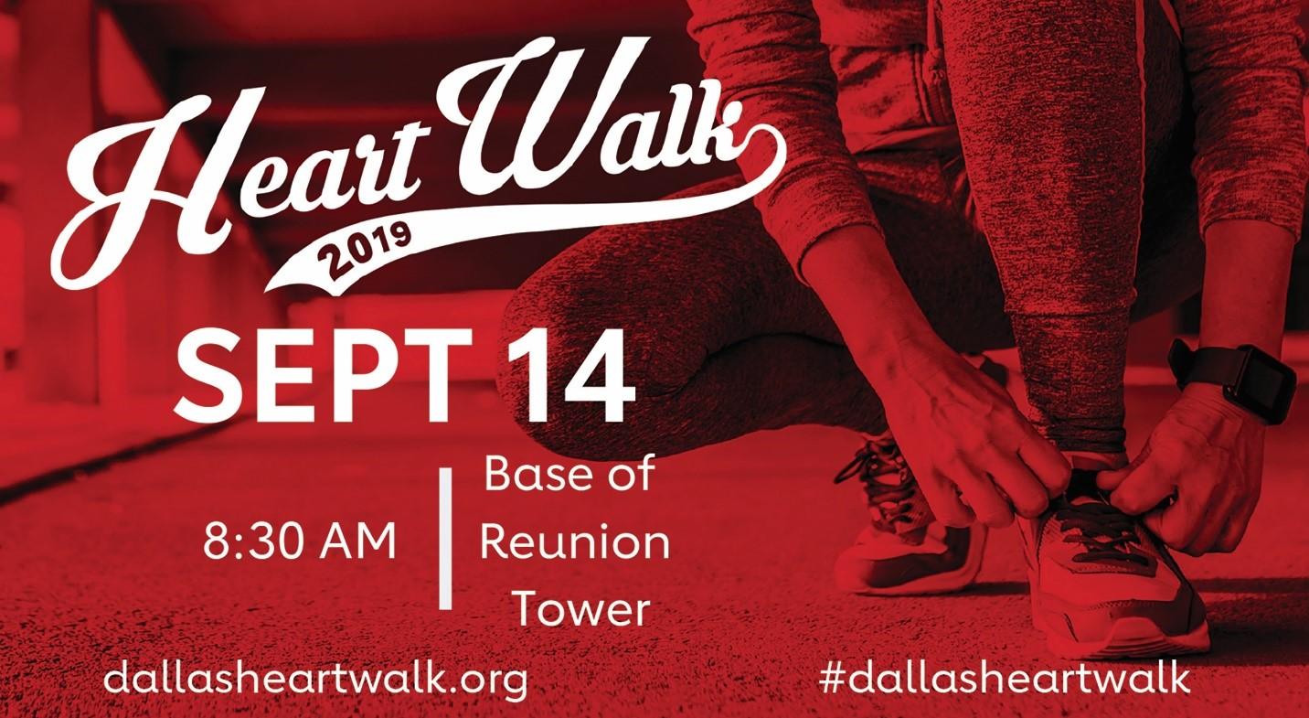 Dallas Heart Walk September 14