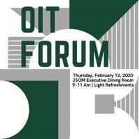 OIT Forum